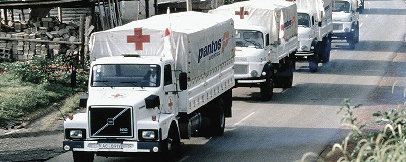 The second image of Transportation of relief supplies